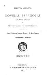Novelas españolas