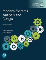 Modern Systems Analysis and Design  eBook  Global Edition PDF