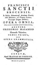 Opera grammatica