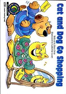 Cat and Dog Go Shopping Book