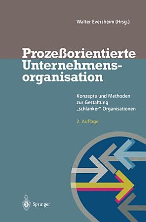 Proze  orientierte Unternehmensorganisation PDF