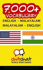 7000+ English - Malayalam Malayalam - English Vocabulary