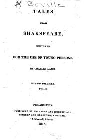 Tales from Shakespeare: Designed for the Use of Young Persons, Volume 2