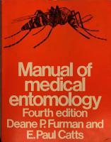 Manual of Medical Entomology PDF