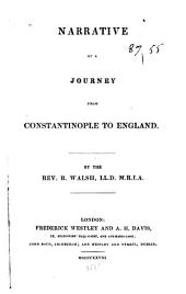 Narrative of a Journey from Constantinople to England