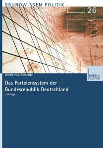 Das Parteiensystem der Bundesrepublik Deutschland PDF