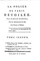 La Police De Paris Dévoilée: Volume1