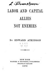 Labor and Capital Allies, Not Enemies