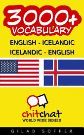 3000+ English - Icelandic Icelandic - English Vocabulary