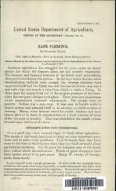 Safe farming