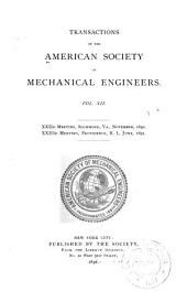 Transactions of the American Society of Mechanical Engineers: Volume 12