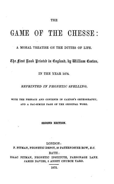 Download The Game of the Chesse Book