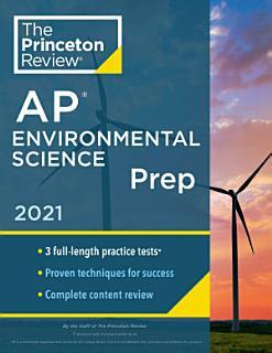 Princeton Review AP Environmental Science Prep  2021 Book