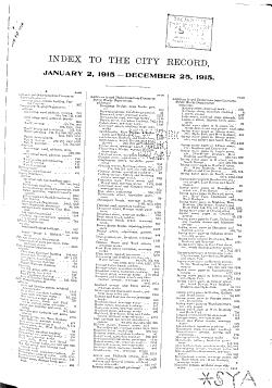 City Record PDF