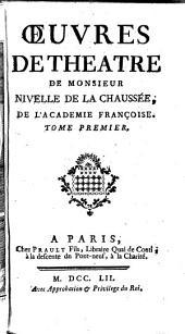 Oeuvres De Theatre: Volume1