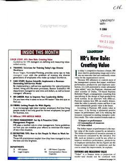 HR Focus PDF