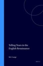 Telling Tears in the English Renaissance