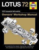 Lotus 72 - 1970 onwards (all marks)