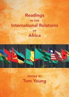 Readings in the International Relations of Africa PDF