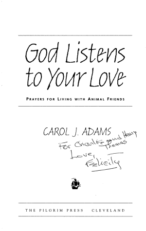 God Listens to Your Love