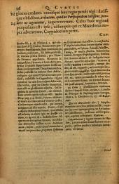 Q. Curtii Rufi Historia Alexandri Magni: cum notis selectiss. variorum, Raderi, Freinshemii, Loccenii, Blancardi, &c