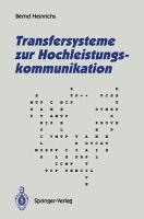Transfersysteme zur Hochleistungskommunikation PDF