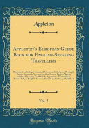 Appleton's European Guide Book for English-Speaking Travellers, Vol. 2