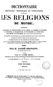 Dictionnaire ... de la Bible: Volume 25