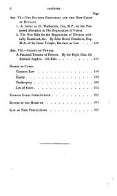 Law magazine : or quarterly review of jurisprudence: Volumes 16-17