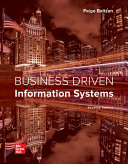 Loose Leaf Business Driven Information Systems Book PDF