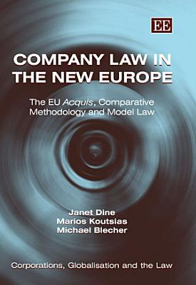 Company Law in the New Europe PDF