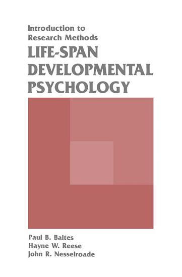 Life span Developmental Psychology PDF