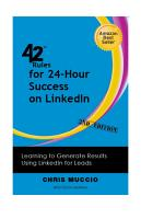 42 Rules for 24 Hour Success on LinkedIn  2nd Edition  PDF