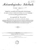 Meteorologische Jahrbuch PDF