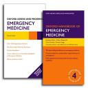 Oxford Handbook of Emergency Medicine and Oxford Assess and Progress Emergency Medicine