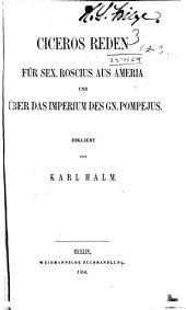 Ausgewæhlte reden: Bände 1-3