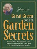 Jerry Bakers Great Green Book Of Garden Secrets