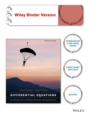 Differential Equations  Binder Ready Version
