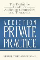 Addiction Private Practice PDF