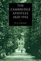 The Cambridge Apostles  1820 1914 PDF