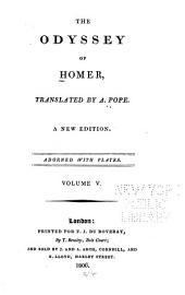 The Odyssey of Homer: Volume 5