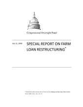 Special Report on Farm Loan Restructuring