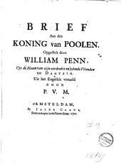 Brief aan den koning van Poolen