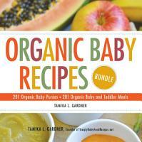 Organic Baby Recipes Bundle PDF