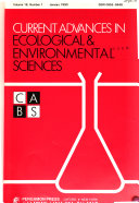 Current Advances in Ecological   Environmental Sciences PDF