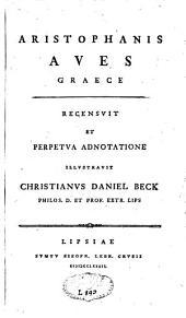 Aristophanis Aves, graece
