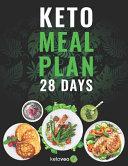 Keto Meal Plan 28 Days Book