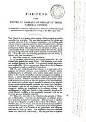 Address to the people of Scotland on behalf of their national Church: Volume 4