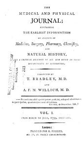 The Medical and Physical Journal: Volume 1