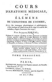 Cours d'anatomie médicale: ou élémens de l'anatomie de l'homme ...